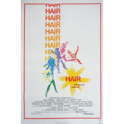1979 Hair Movie Poster - Original Vintage Poster