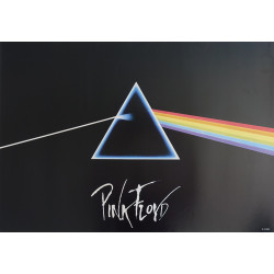 1988 Pink Floyd The Dark Side of the Moon - Original Vintage Poster