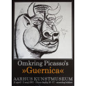 1981 Picasso Guernica Exhibition Poster - Original Vintage Poster
