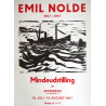 1967 Emil Nolde Danish Memorial Exhibition - Original Vintage Poster
