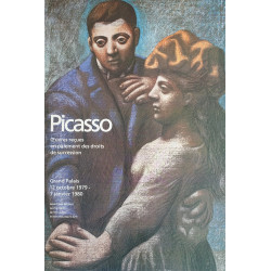 1979 Picasso Exhibition at Grand Palais Paris - Original Vintage Poster
