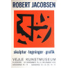 1975 Robert Jacobsen Exhibition Poster - Original Vintage Poster