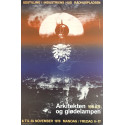 1979 Architecture and the Incandescent lamp - Original Vintage Poster