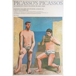 1981 Picasso Art Exhibition Poster - Original Vintage Poster