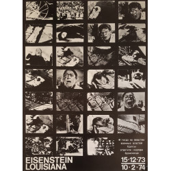 1973 Eisenstein Louisiana Museum of Modern Art - Original Vintage Poster