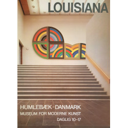 1980s Louisiana Museum of Modern Art II - Original Vintage Poster