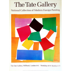 1987 Matisse at Tate Gallery - Original Vintage Poster