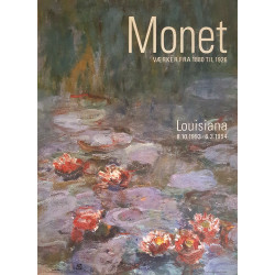 1993 Monet at Louisiana Museum of Modern Art - Original Vintage Poster