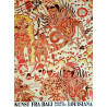 1977 Bali Art at Louisiana Museum of Modern Art - Original Vintage Poster