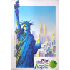 1980 New York Travel Poster - Original Vintage Poster
