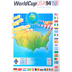 1994 World Cup Soccer/Football USA - Original Vintage Poster