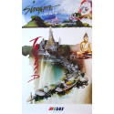 1992 Thailand & Singapore Travel Poster by Scandinavian Airlines - Original Vintage Poster