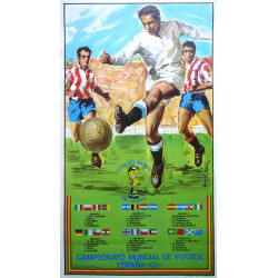 1982 World Cup Spain (Football/Soccer) - Original Vintage Poster
