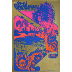 1967 Jimi Hendrix Experience - Are You Experienced - Concert Poster Fillmore - Original Vintage Poster