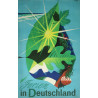 1952 Germany Travel Poster Ferien in Deutschland - Original Vintage Poster