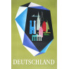 1950 Germany Travel Poster by Lämmle S.+ H - Original Vintage Poster