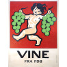 1950s Wine Advertisement II - Original Vintage Poster