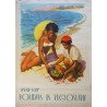 1950s Spend Your Holidays in Yugoslavia - Original Vintage Poster