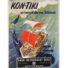1940s Kon-Tiki Book Advertisement - Original Vintage Poster