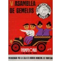 1970 Assembly of Twins Pamplona - Original Vintage Poster