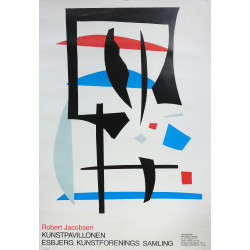 1970s Robert Jacobsen Exhibition Poster - Original Vintage Poster