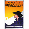 1980s Galerie du Claridge Paris Fashion - Original Vintage Poster