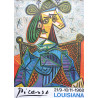 1968 Picasso Exhibition Poster Louisiana - Original Vintage Poster