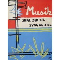 1961 Play Music & Sing Campaign - Original Vintage Poster