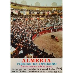 1969 Winter Festival of Almería, Spain - Original Vintage Poster