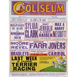 1928 London Coliseum - Original Vintage Poster