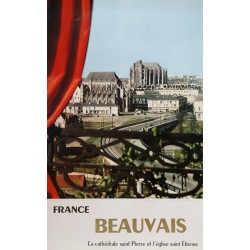 1960s France, Beauvais - Original Vintage Poster