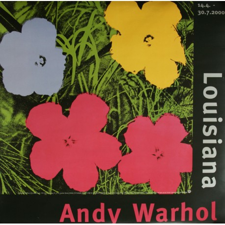 1994 Andy Warhol Exhibition Poster - Original Vintage Poster