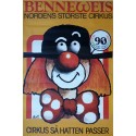"1977 Circus Benneweis ""90 Years Anniversary"" - Original Vintage Poster"
