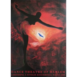 1987 Dance Theatre of Harlem by Nina Sten Knudsen - Original Vintage Poster