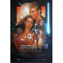 1999 Phantom Menace (Star Wars Episode I) - Original Vintage Poster