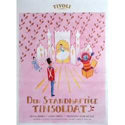 2013 Tivoli by Queen Margrethe II of Denmark - Original Vintage Poster