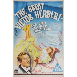 1939 The Great Victor Herbert Movie Poster - Original Vintage Poster