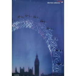 2000 London/British Airways Advertisement - Original Poster