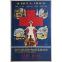 1950s Argentinian Red Cross - Original Vintage Poster