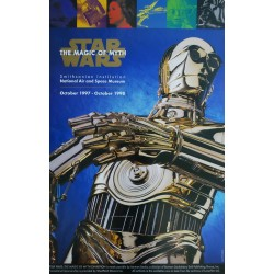 "1997 Star Wars Art Exhibition ""The Magic of the Myth"" - Original Vintage Poster"