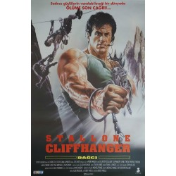 1993 Cliffhanger Movie Poster - Original Vintage Poster