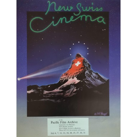1990 New Swiss Cinema - Original Vintage Poster