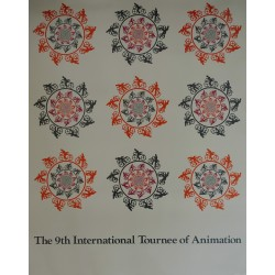 1974 International Tournée of Animation - Original Vintage Poster