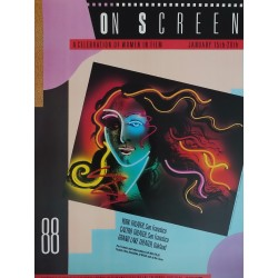 1988 On Screen Film Festival - Original Vintage Poster