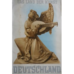 "1937 Germany ""Land of Arts"" - Original Vintage Poster"