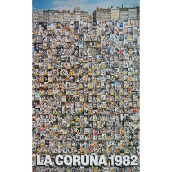 1982 World Cup Spain (La Coruña) - Original Vintage Poster