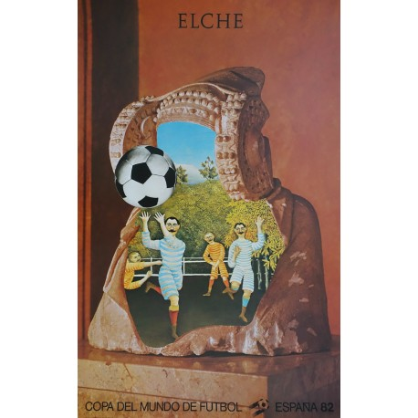 1982 World Cup Spain (Elche) - Original Vintage Poster