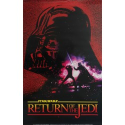 "1983 Star Wars ""Return of the Jedi"" Movie Poster (commerical) - Original Vintage Poster"