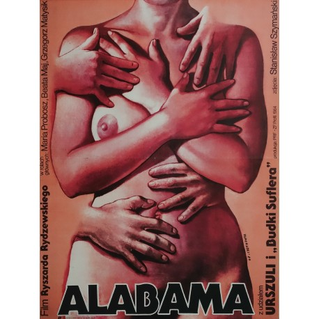 1984 Alabama (Polish Movie Poster) - Original Vintage Poster