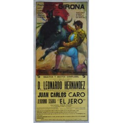 1988 Girona Bullfighting - Original Vintage Poster